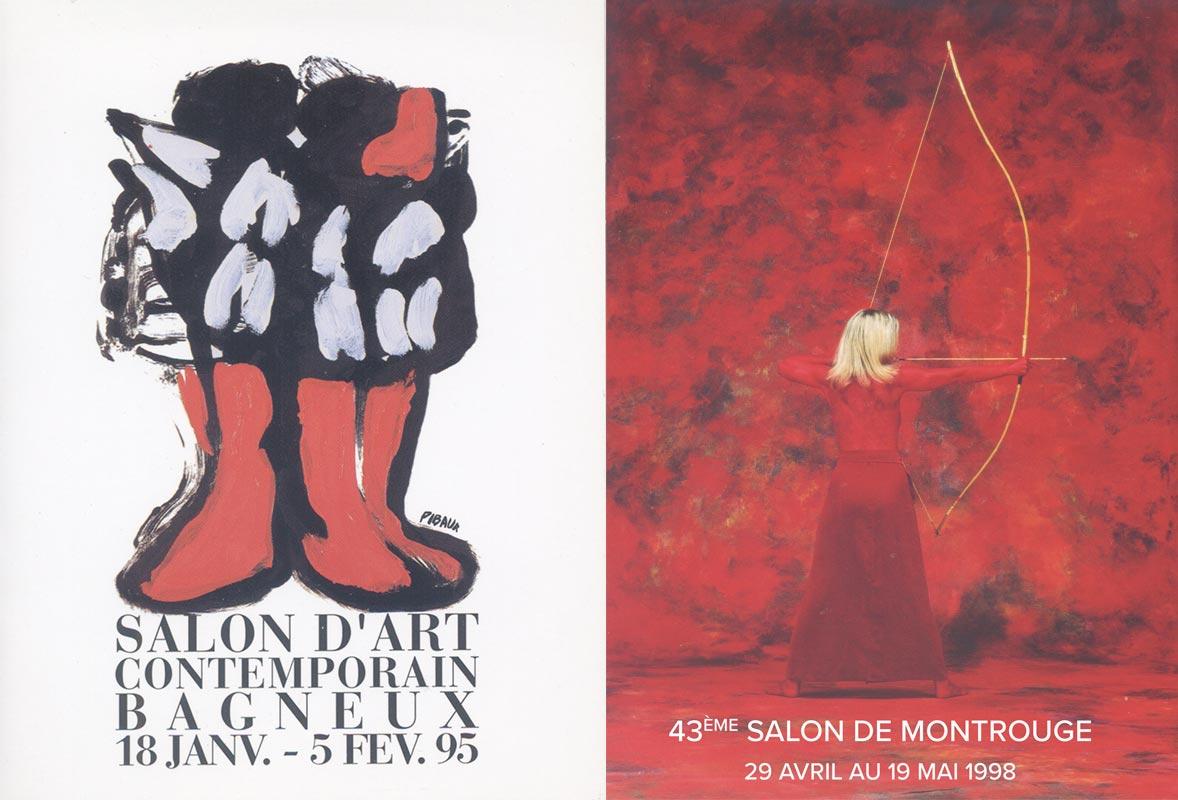 Salon d'art contemportain Affiches Bagneux, Montrouge